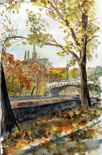 Sketchbook Prague autumn image