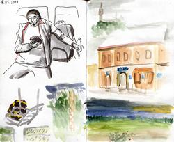 Sketchbook summer 2017 image 1