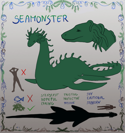 The last seamonster - character sheet image